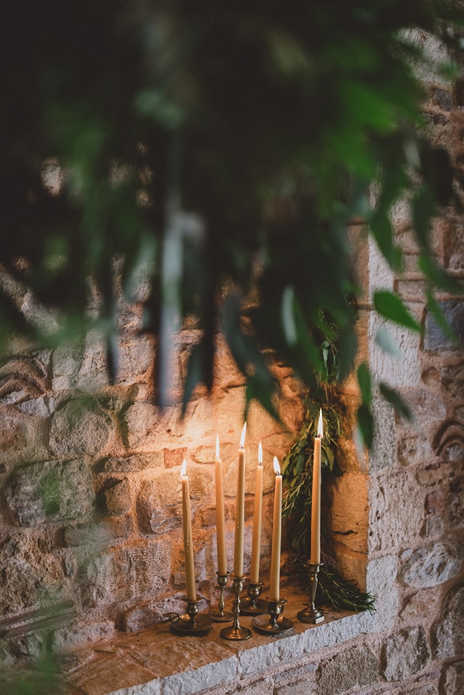 Ceremony candles | Greek Countryside Wedding | Andreas Markakis Photography
