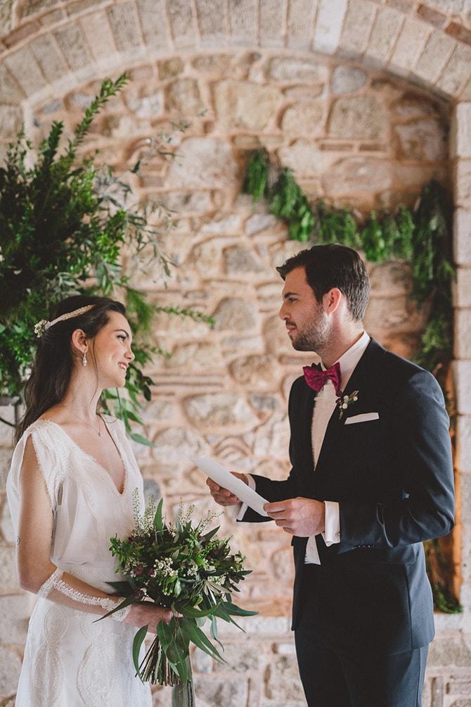 Wedding ceremony | Greek Countryside Wedding | Andreas Markakis Photography
