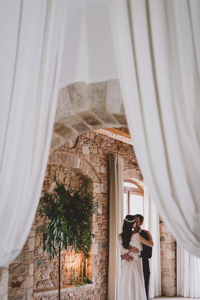 Ceremony kiss | Greek Countryside Wedding | Andreas Markakis Photography