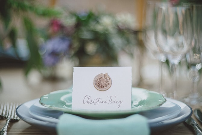 Table Name | Greek Countryside Wedding | Andreas Markakis Photography