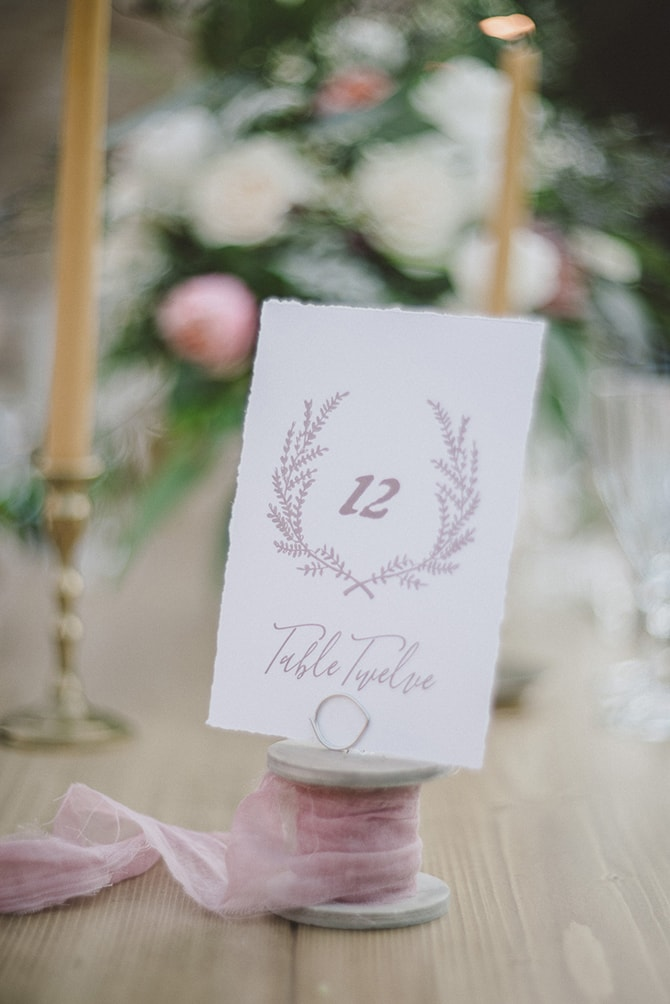 Rustic table names | Greek Countryside Wedding | Andreas Markakis Photography