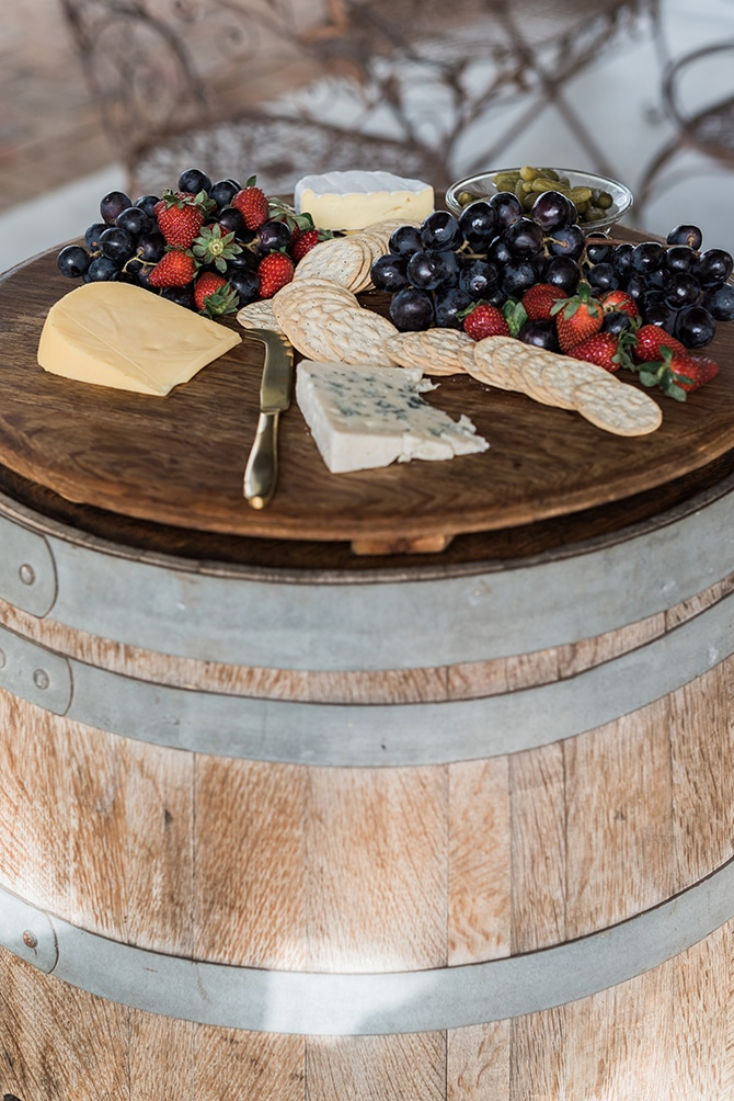 Wedding cheeseboard | Olive Tree Vineyard Wedding Raquelle Loraine Photography