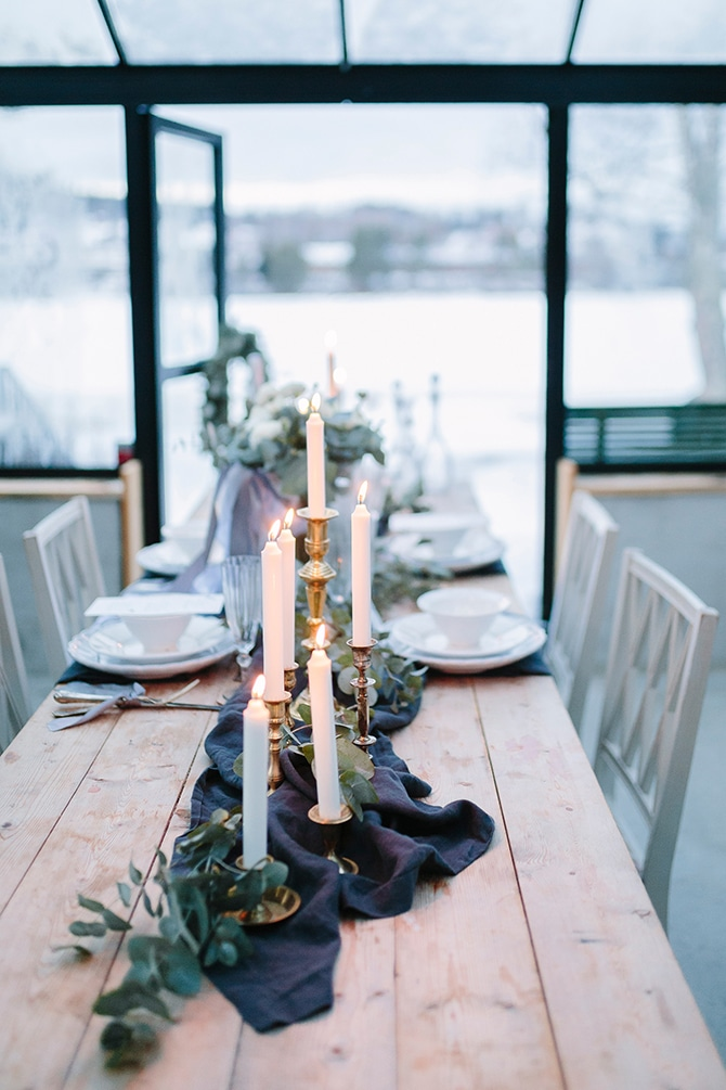 Kardemumma Decor | Swedish Winter Wedding Style Linda-Pauline Photo