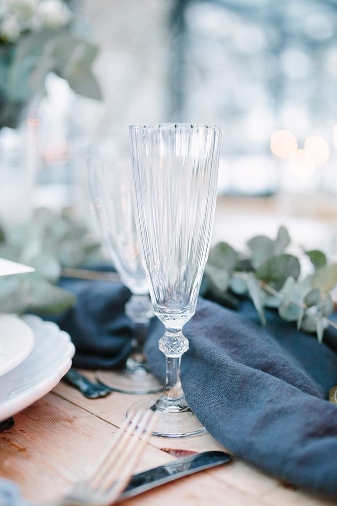 Swedish Wedding Table | Swedish Winter Wedding Style Linda-Pauline Photo