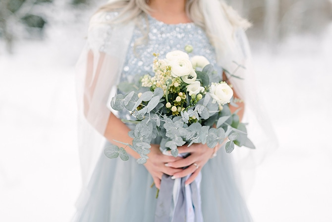 Rosehills Flowers | Swedish Winter Wedding Style Linda-Pauline Photo