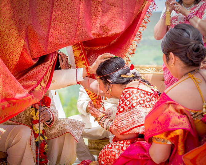 Hindu wedding ceremony | Traditional Hindu Wedding | Third Eye Photography