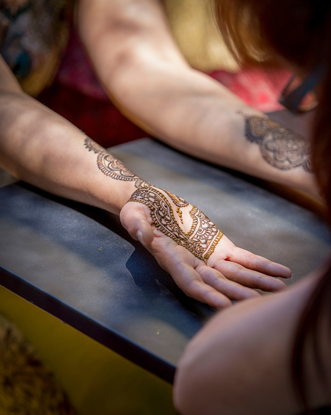 Bride Henna Tattoo | Traditional Hindu Wedding | Third Eye Photography