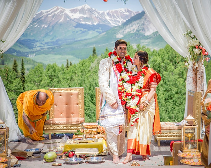 Ceremony in the mountains | Traditional Hindu Wedding | Third Eye Photography