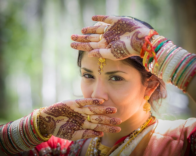 Hindu bride | Traditional Hindu Wedding | Third Eye Photography