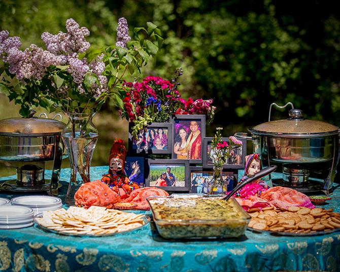 Hindu Wedding Food | Traditional Hindu Wedding | Third Eye Photography