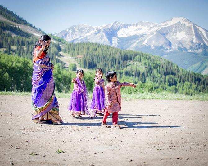 Hindu Wedding Guests | Traditional Hindu Wedding | Third Eye Photography