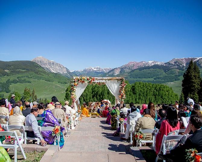 Hindu wedding in the mountains | Traditional Hindu Wedding | Third Eye Photography