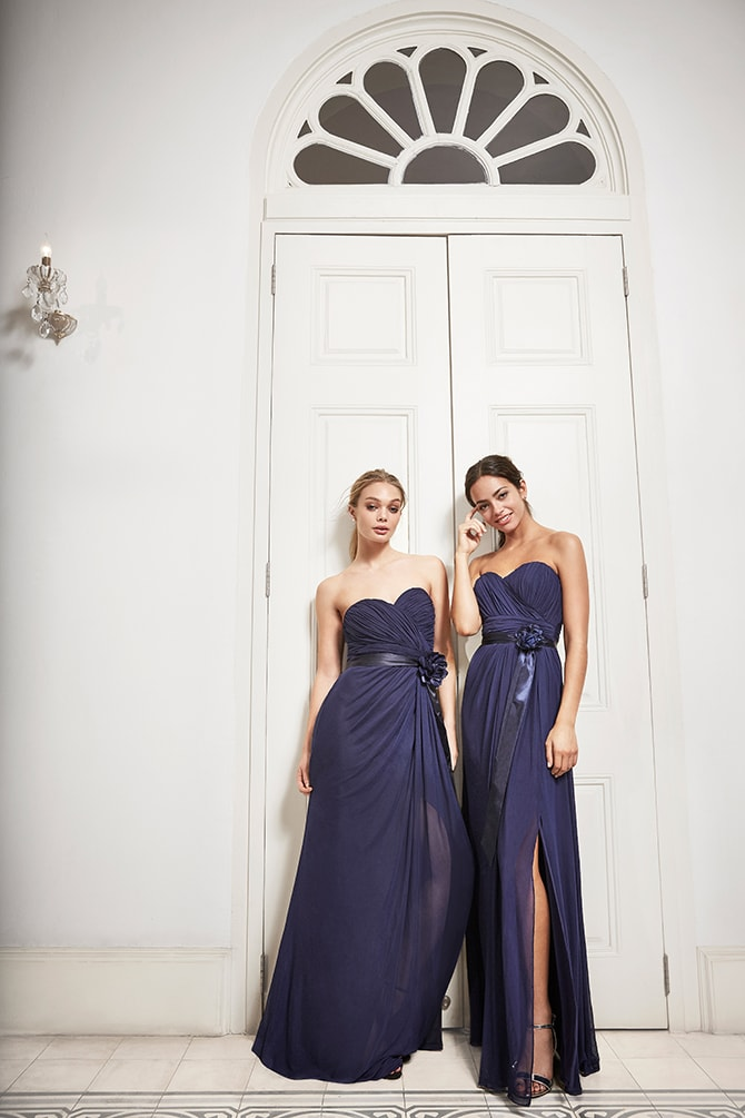 Navy Lipsy Bridesmaid Dresses