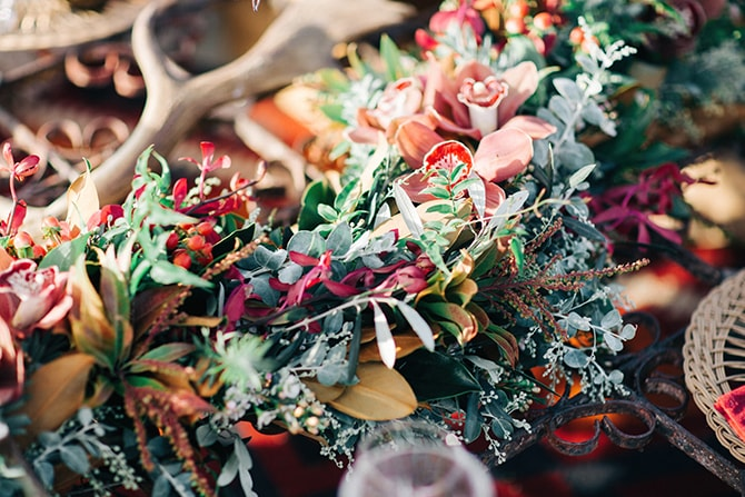 Boho wedding flowers | Coastal Vagabond Inspiration | Shae Estella Photo