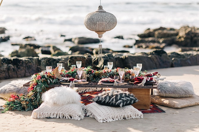 Boho Beach Picnic | Coastal Vagabond Inspiration | Shae Estella Photo