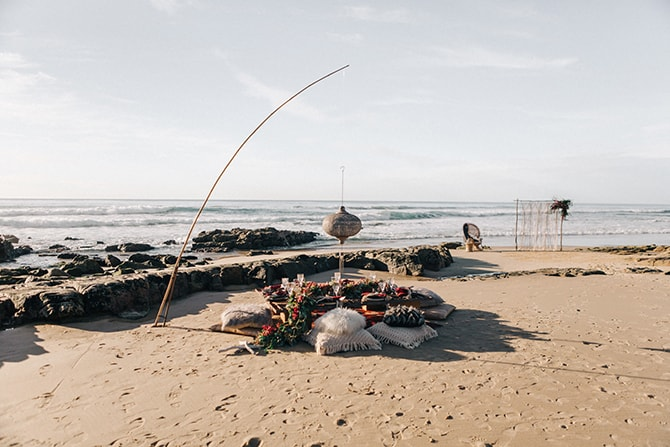 Boho beach seats | Coastal Vagabond Inspiration | Shae Estella Photo