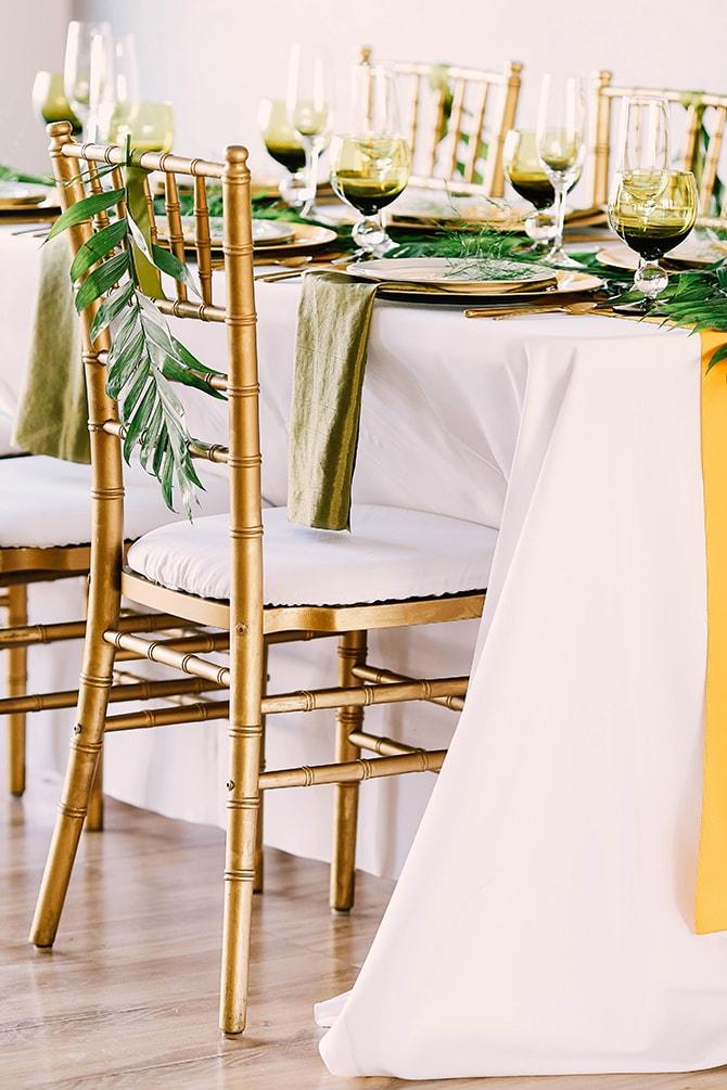 Fern wedding decor | Fern and Foliage Wedding Decor | Hawkeye Photography