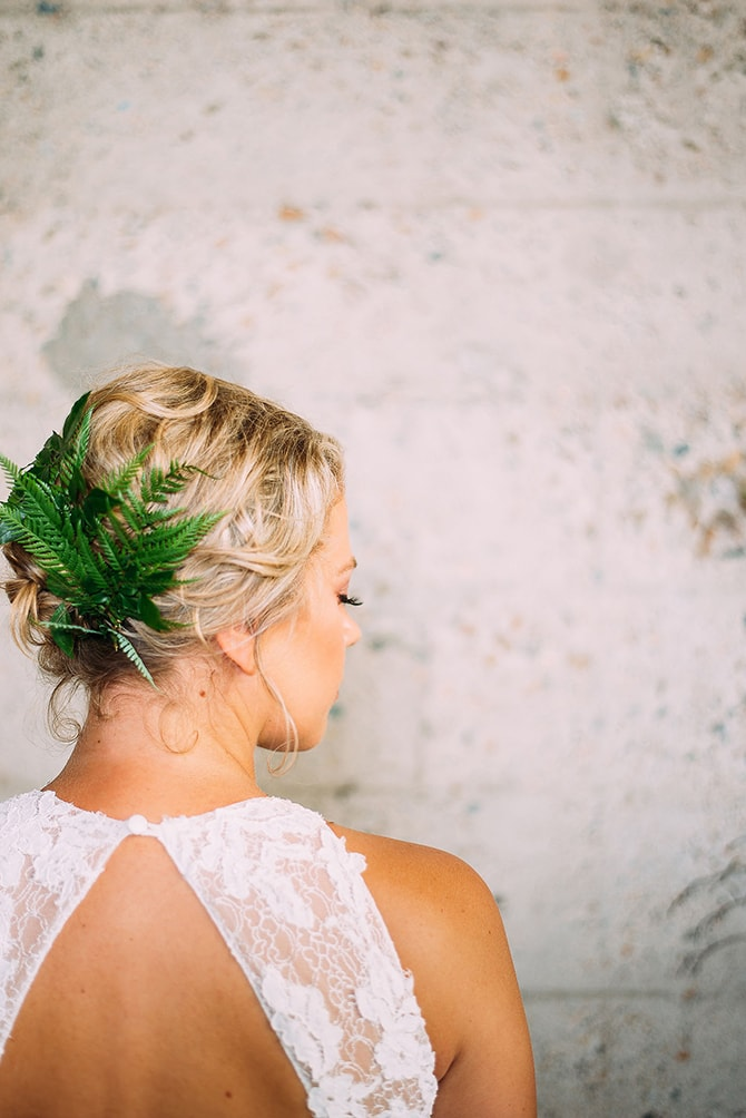 Green Hair Accessory | Hidden City Garden | Fogamp Dawn Photography