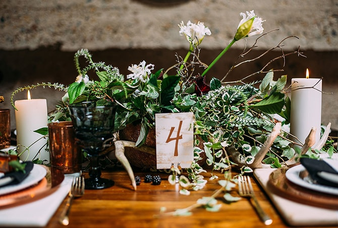 Wedding Flowers | Hidden City Garden | Fogamp Dawn Photography