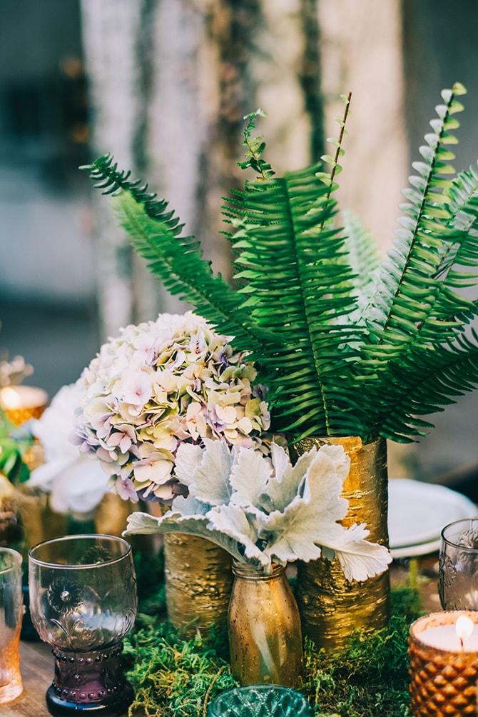 Wedding palms | Secret Garden Wedding | Sarah Mattix Photography