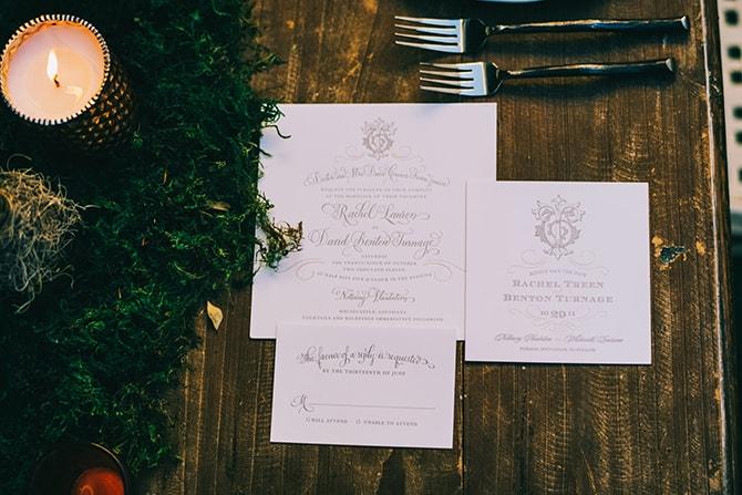 Wedding Stationery | Secret Garden Wedding | Sarah Mattix Photography
