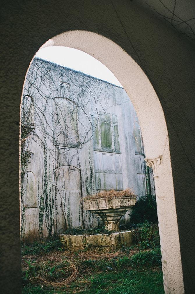Garden archway | Secret Garden Wedding | Sarah Mattix Photography