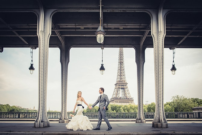 Love in Paris | Vintage Paris Elopement | Paris Photographer Pierre