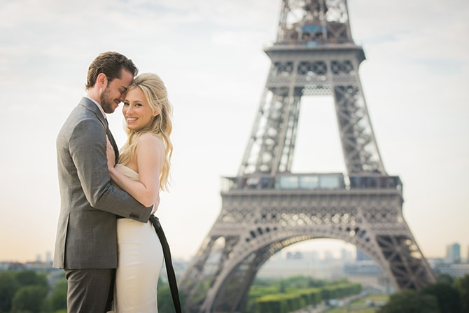 Wedding in Paris | Vintage Paris Elopement | Paris Photographer Pierre
