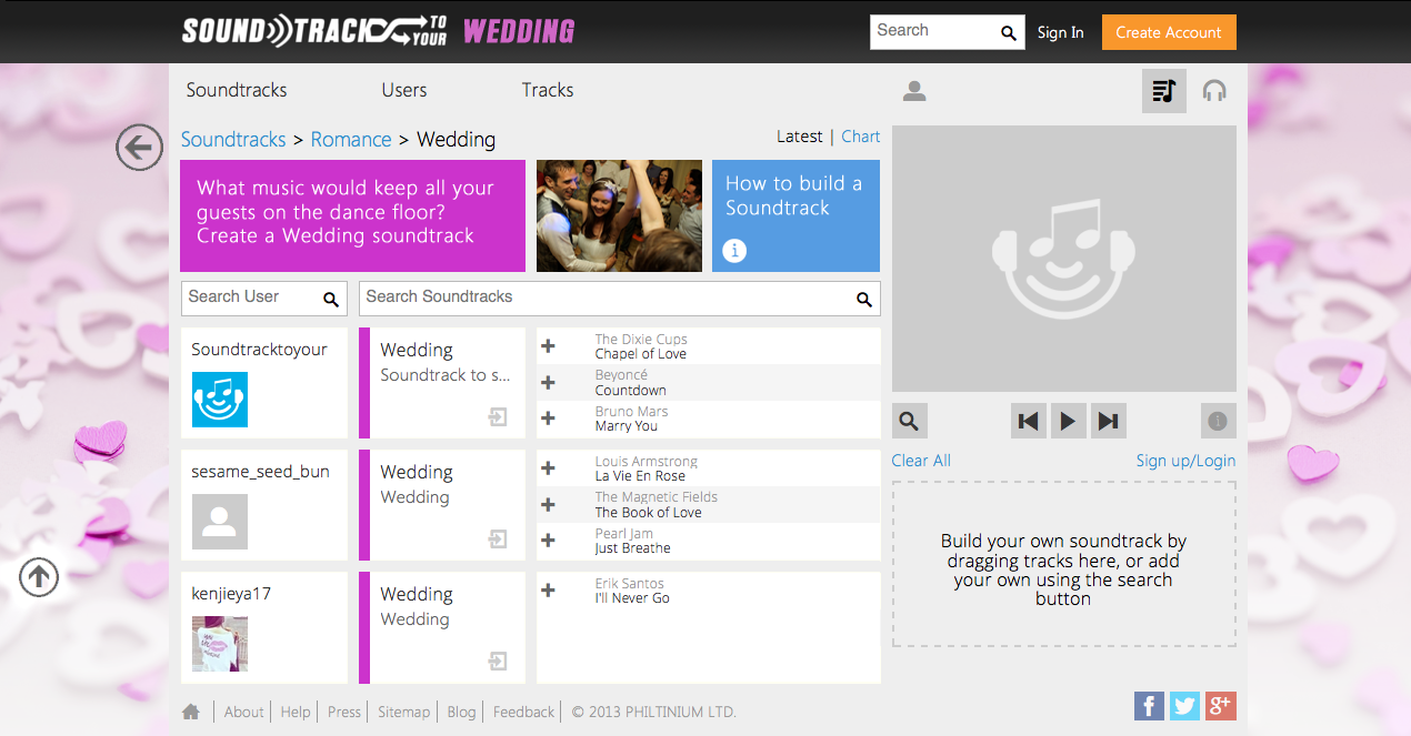 Soundtracktoyour.com new wedding music discovery service | Ultimate Wedding Magazine