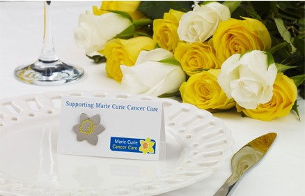 Wedding day favours with Marie Curie Cancer Care  | Ultimate Wedding Magazine 1