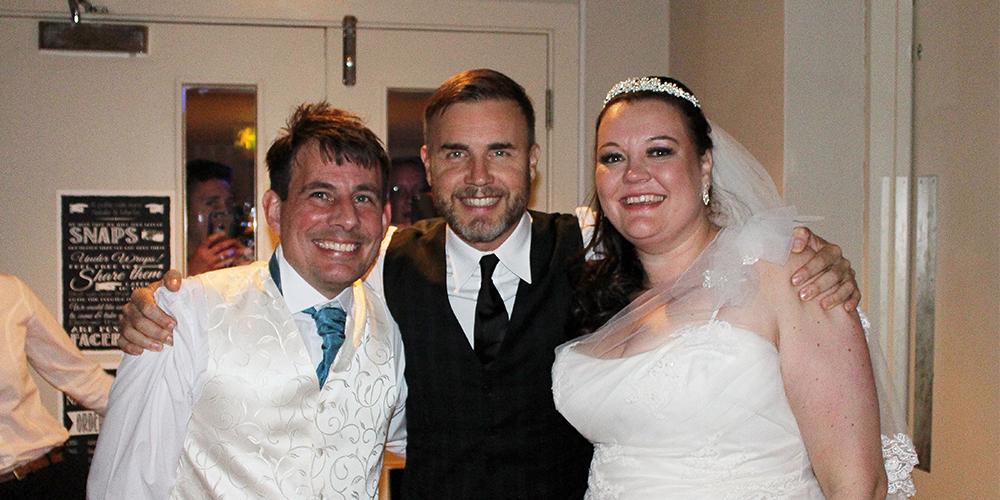 Gary Barlow Surprises Oxfordshire Wedding