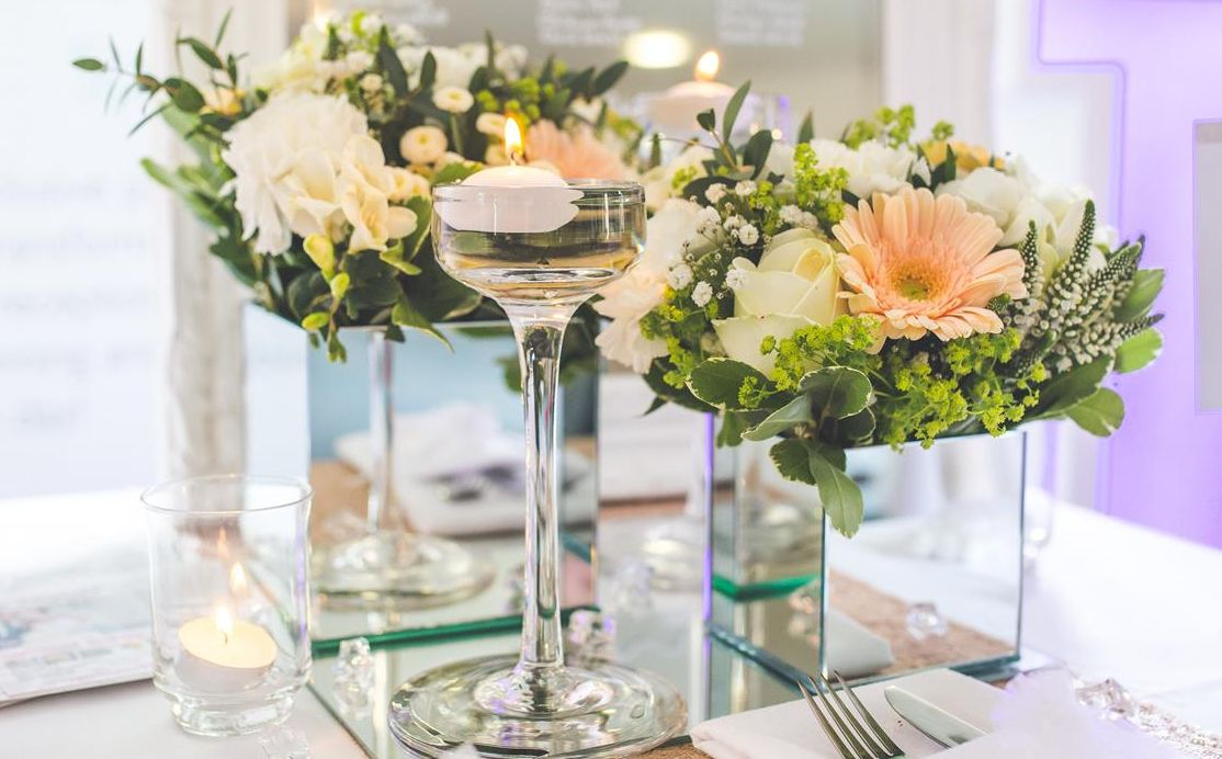 Floral Centrepiece | Unusual ideas for centrepieces
