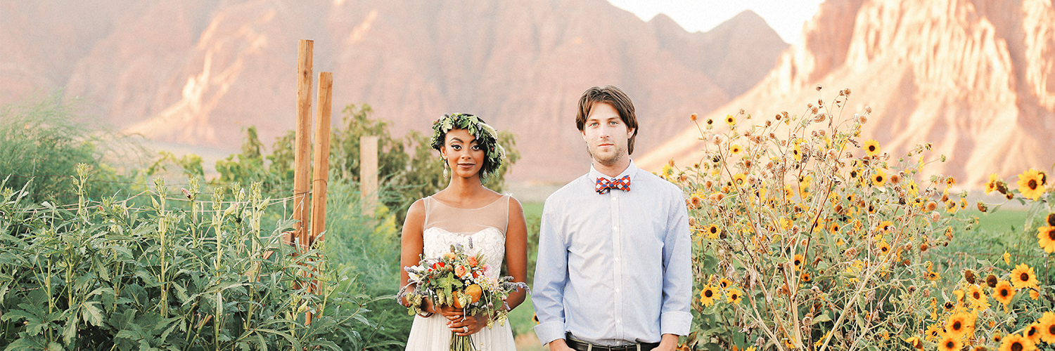 Bride and Groom Utah | Farm Fresh Style Wedding in Utah | Gideon Photography | Ultimate Wedding Magazine