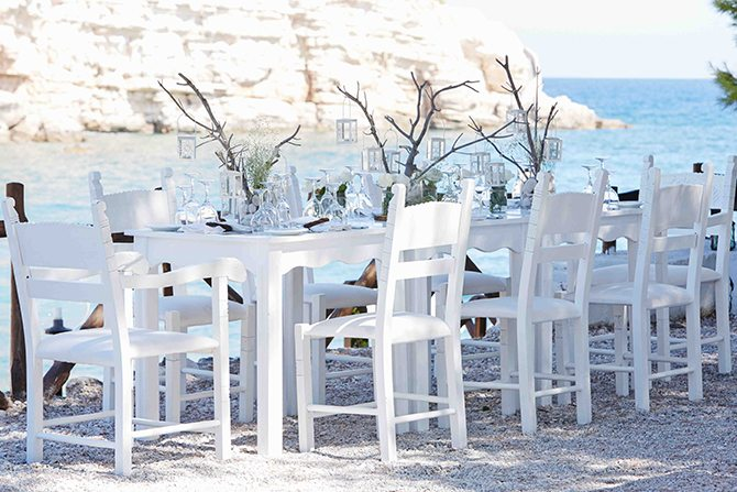 Alfresco wedding at Skiathos Princess Hotel