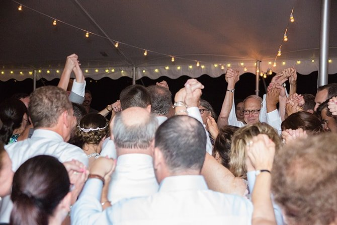 Wedding party | Coastal Fort Wedding in Rhode Island | Ellysia Francovitch Photography