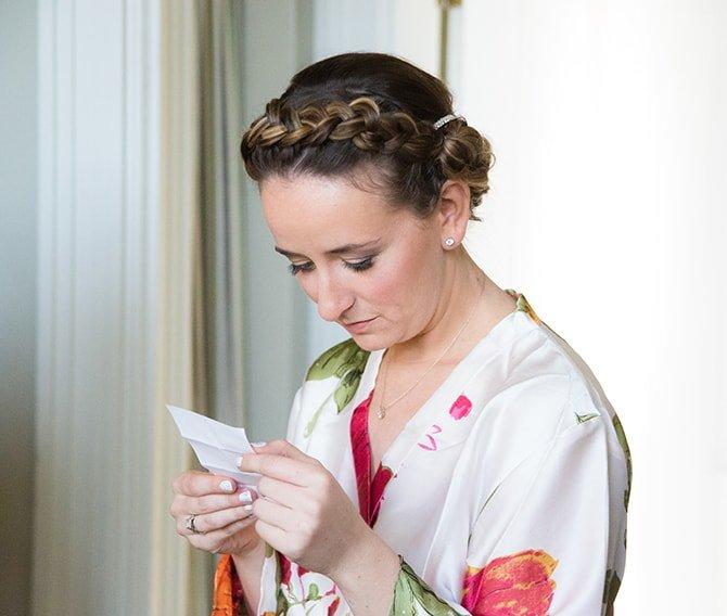 Bride | Coastal Fort Wedding in Rhode Island | Ellysia Francovitch Photography
