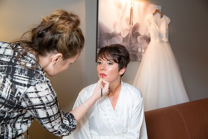 Bridal makeup | Hollywood Glamour in Liverpool | Lesley Bee Photography