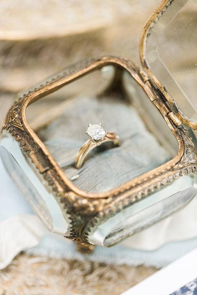 Wedding Ring | Fall Wedding at Historic Virginia Estate | Lieb Photographic LLC