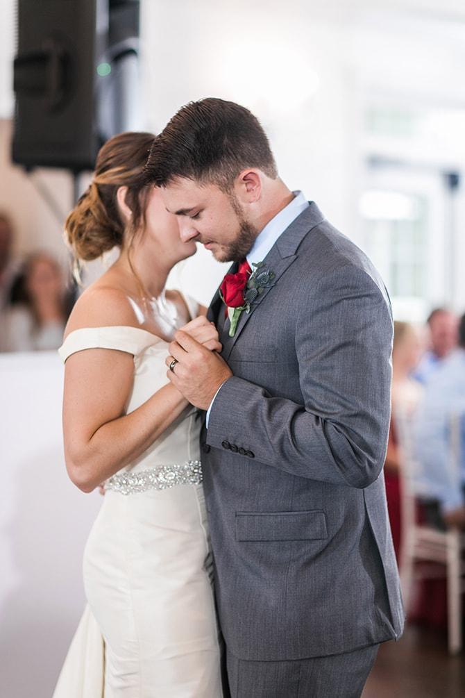 First dance | Fall Wedding at Historic Virginia Estate | Lieb Photographic LLC