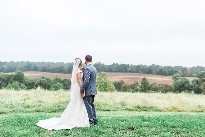 Wedding in the countryside | Fall Wedding at Historic Virginia Estate | Lieb Photographic LLC