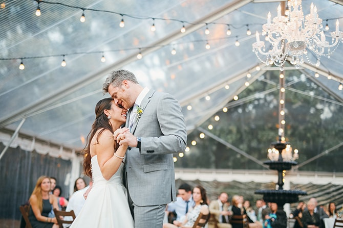 Wedding first dance | Stunning Southern Plantation Wedding | Gideon Photography