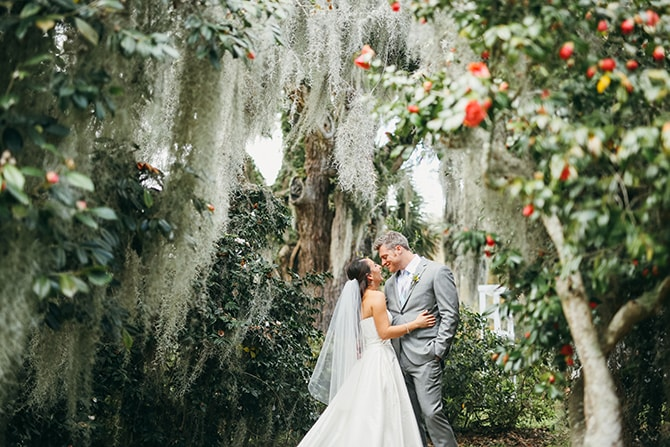 Happy couple | Stunning Southern Plantation Wedding | Gideon Photography