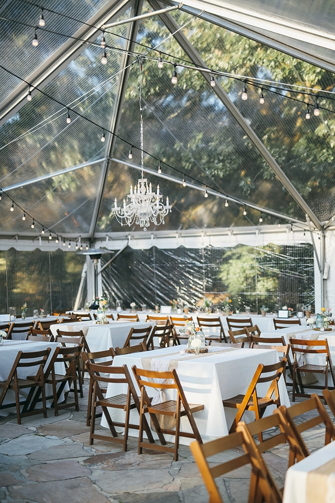 Modern clear wedding tent | Stunning Southern Plantation Wedding | Gideon Photography