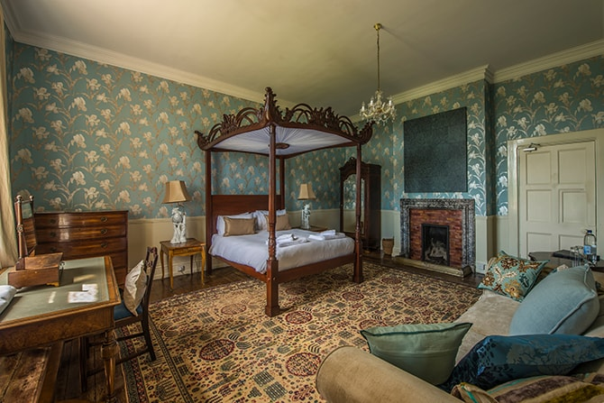 Beryls Boudoir Bedroom at Huntsham Court