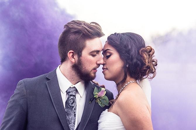 Modern wedding portraits | Casually Modern Wedding Inspiration | Mindy DeLuca Photography