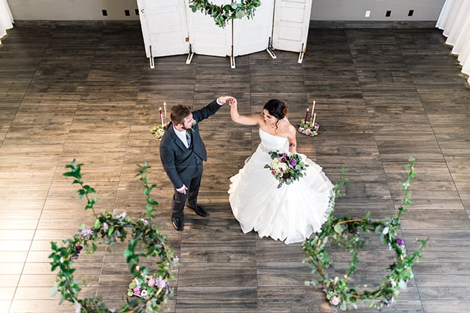 Wedding dance | Casually Modern Wedding Inspiration | Mindy DeLuca Photography