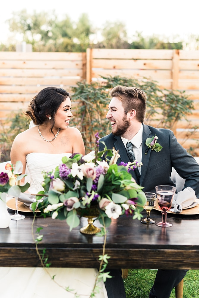 Newlyweds | Casually Modern Wedding Inspiration | Mindy DeLuca Photography