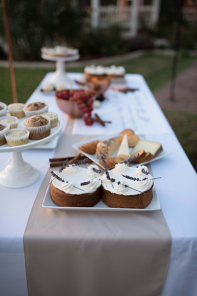 Wedding dessert table | Countryside Sunset Wedding in Texas | Rebecca Chesney Photo