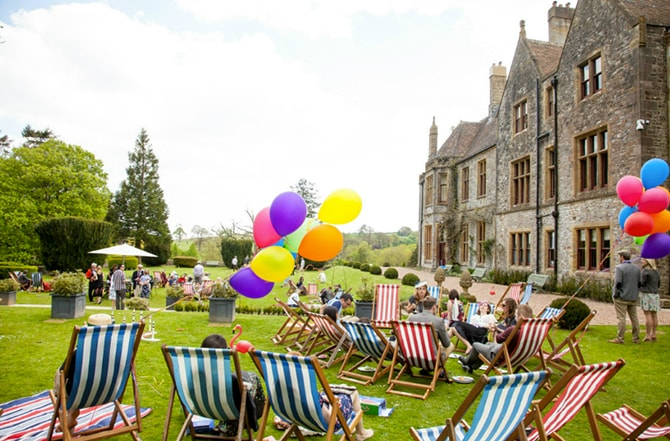 Huntsham Court Garden Party