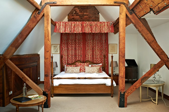 Huntsham Court Purdey Bedroom